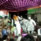 BJP leader falls down